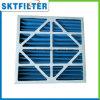 Filtro de ar plissado do Sell painel azul quente