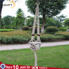 Long Size Nature Color Cotton Rope with Coffee Bead Macrame Flower Hanger