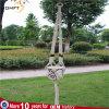 Длинняя веревочка хлопка цвета природы размера с вешалкой цветка Macrame шарика кофеего