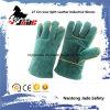 Gants de travail de soudure de sécurité industrielle en cuir garni de 27 cm
