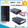 Vestito solare del regolatore di MPPT 15A 12V/24V per la batteria Sm1575-Li dello Li-ione