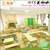 Mobília de madeira da mesa das mesas do estudo e dos miúdos das cadeiras para a escola