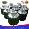 Roda de tambor de diamante de 50mm para polir pedra