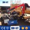 油圧電気小型トラッククレーン