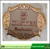 Kundenspezifischer Entwurfs-Qualitäts-Rotwein-Metallkennsatz