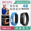 Шагомер Wristband силикона тренировки Zencro горячее продавая Bluetooth франтовское