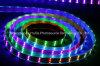 Tira do diodo emissor de luz da microplaqueta 90LEDs 27W DC24V da cor cheia SMD5050 do RGB IP65