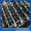 ステンレス鋼のU字形のチェーンコンベヤベルトの/Conveyor平らなワイヤーベルトが付いているか、または蜜蜂の巣の金網のベルト・コンベヤー