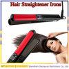 Straightener liso do cabelo da temperatura do controle do LCD do ferro do cabelo cerâmico