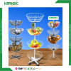 3 Tier Fruit Tennis shoe Iron Serving Holder Rack Display Stand