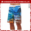 Impression de sublimation en polyester personnalisée Short de planche de surf en gros (ELTBSJ-216)