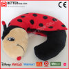 Madame animale bourrée Bug Neckpillow de peluche