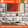 Papier peint imperméable à l'eau de PVC pour la décoration intérieure