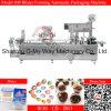 Máquina de enchimento da selagem do chocolate do animal de estimação do PVC picosegundo do Pre-Forming