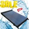 Calefator de água pressurizado elevado do coletor solar da câmara de ar da tubulação de calor