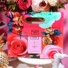 De Dozen van het Suikergoed van de Activiteiten van de Viering van de Zak van het Huwelijk van het Huwelijk van de Gift van de terugkeer doet de Handtassen Aangepaste Ideeën van de Gift in zakken