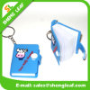 Nuovi regali su ordinazione del ricordo del PVC Keychain della catena chiave di disegno