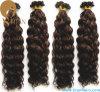 水波のバージンの人間の毛髪Uの先端の毛の拡張