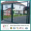 Recubierto de PVC Mallas Soldadas cercas de hierro forjado y el diseño de puerta