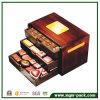De Bruine Houten Doos van uitstekende kwaliteit van de Chocolade voor Gift