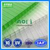 Protegido contra UV Twin-Wall Folha de policarbonato