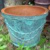 Pot antique chinois de bleu de porcelaine