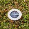 Capteur optique imperméable à l'eau Large Deck Path Garden Solar LED Lamp Light