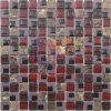 Glas van de Mengeling van de rode Kleur het het Plastic en Mozaïek van de Steen (CSR091)
