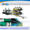 Conduíte elétrico&Tubo de borracha Sanitária/tubo flexível de sifão PP-PE-PVC-PA tubo corrugado Coxim Extrusor