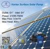 солнечный насос DC поверхности вортекса 210W-750W, насос полива