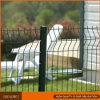 PVC 입히는 금속 정원 철 담을 구부리는 삼각형