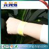 Wristbands de papel impermeáveis ajustáveis de RFID Tyvek para concertos