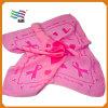 Таможня напечатала шарф 100% сатинировки квадратный (HYS-AF021)