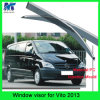 Acessórios de carro personalizados Car Rain Visor Sun Shade Visor para Benz Vito