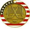 L'émail personnalisé Prix Médaille Hockey Jeu de support de l'icône de conception simple
