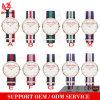 OEM Dw van de Douane van yxl-327 2016 Horloges van de Klok van het Leer van Pormotional van het Polshorloge van Mens van de Kwart gallon van Japan Movt van de Manier het Horloge van de Stijl