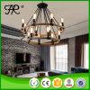 2016 Chandelier Light Modern Pendant Lamp com corda de cânhamo