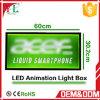 Caixa leve instantânea Animated magro do diodo emissor de luz da tecnologia creativa nova