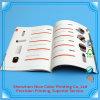 Libro di derivazione di stampa del catalogo dello scomparto dell'opuscolo superiore