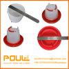 Buveur de poulet en plastique pour le poulet Floor-Rearing
