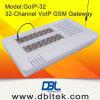 GoIP 32 Porto GSM Gateway com mensagem de SMS em massa para livre de Terminação de Chamadas