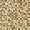 Ruw en Matt Face Mixed Glass met Marble Mosaic Used in Woonkamer (CS100)