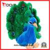 O costume do OEM faz a animal enchido macio o brinquedo bonito do luxuoso do pavão