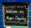 Magie conseil d'écriture fluorescent (de MDWB)