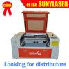 사용을%s 소형 6040 50W 이산화탄소 Invitatation 카드 Laser 절단기