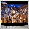 LED-im Freien wasserdichtes warmes weißes dekoratives Weihnachtskugel-Licht