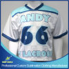 Sublimation su ordinazione Printing Unisex Lacrosse Team Shirt per Lacrosse Game