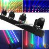 4X10 ВТ RGBW 4в1 светодиодные лампы дальнего света в силу DJ перемещение головки блока цилиндров