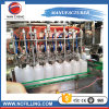 Óleo de sumo de bebidas de Água Automática máquina de enchimento de garrafas de vinho enchendo a linha de rotulação de nivelamento