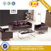 Sofà di cuoio moderno della nuova di disegno mobilia della casa (HX-S325)